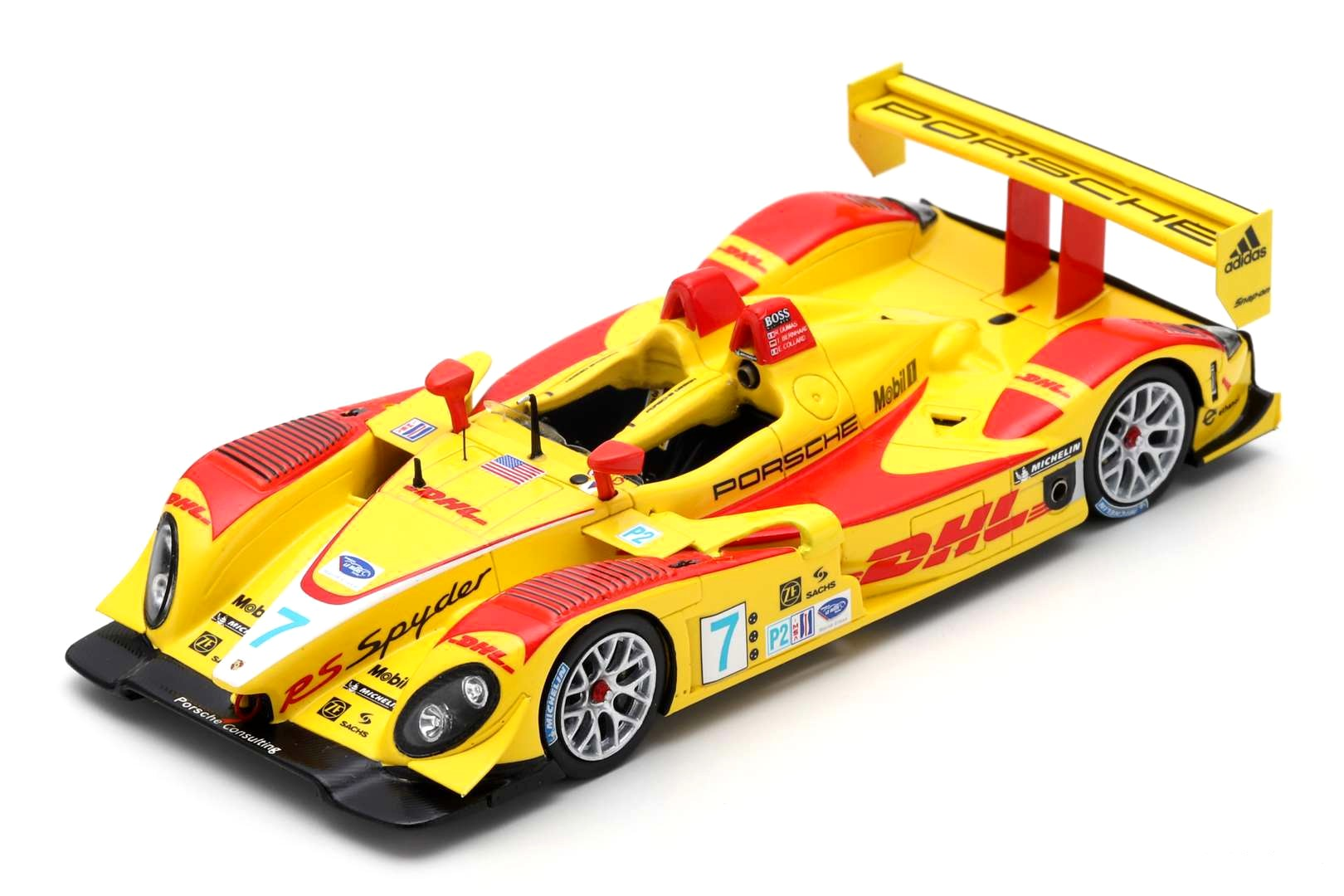Vqr Collard Bernhard Porsche Dumas Sebring Spyder Rs 20087 8n0wPOk